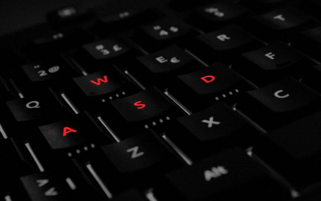 Tastatur WASD