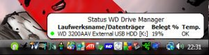 WD Drive Manager