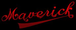 Maverick Logo Schriftzug