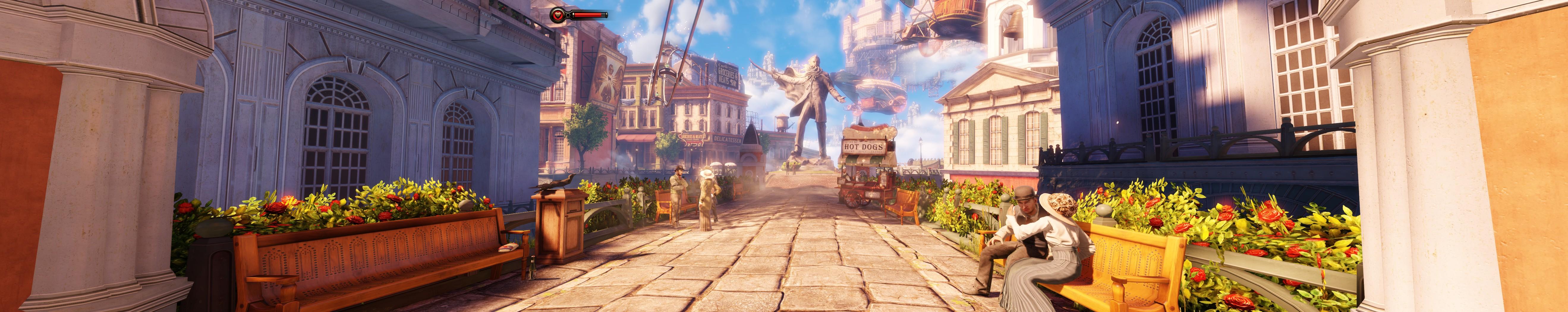 Bioshock: Infinite bietet ein atemberaubendes Art-Design