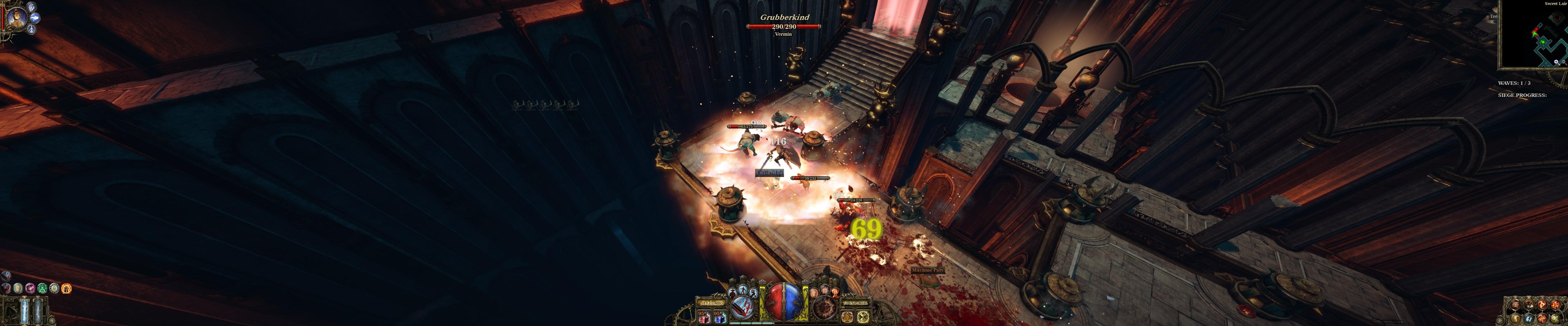 Monster-Horden beseitigt Van Helsing besonders eindrucksvoll