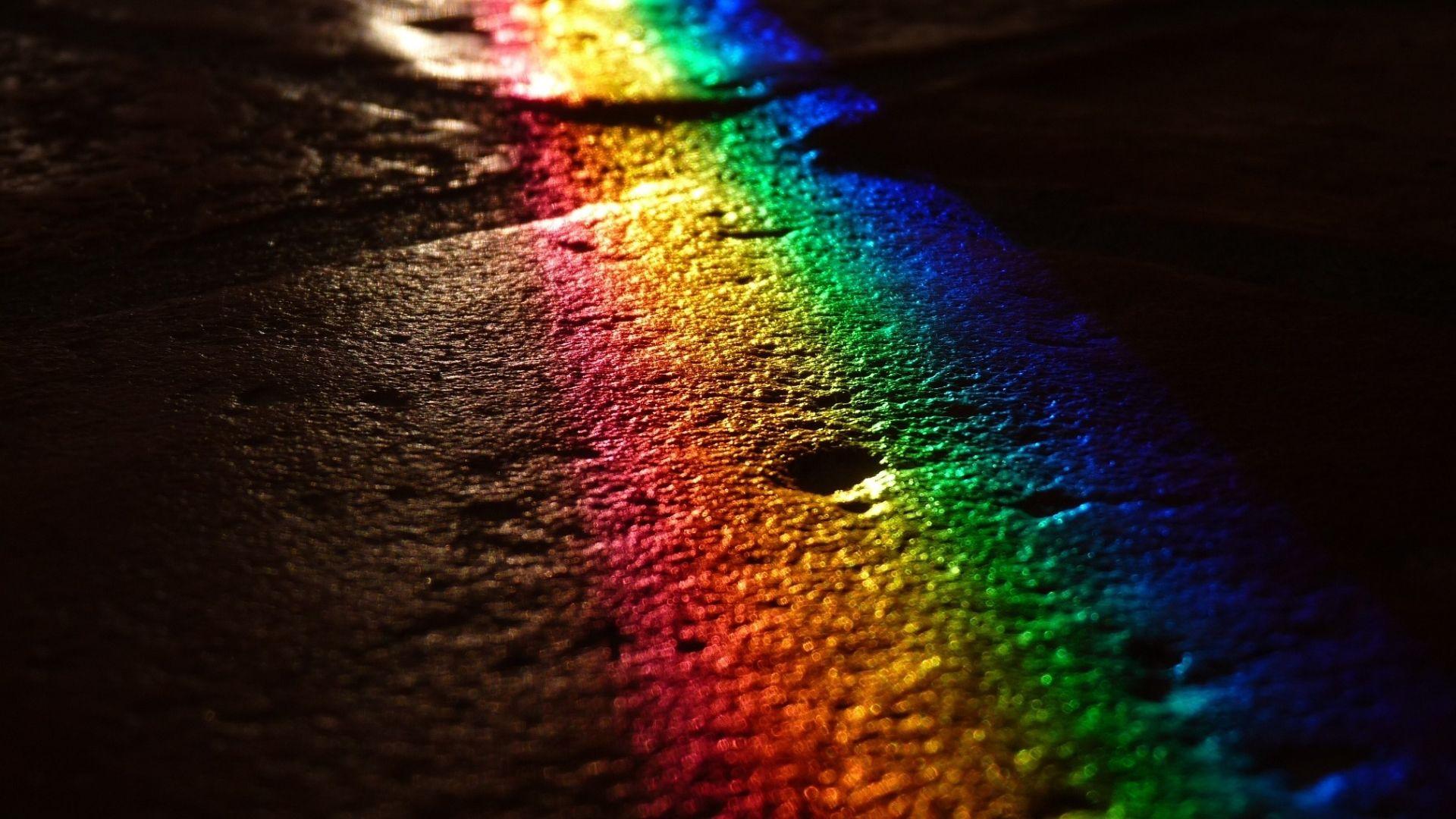 Regenbogen-Straße