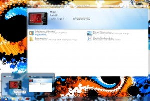 Windows 7 Integration des Zen