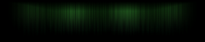Green Lines Triple-Screen Wallpaper