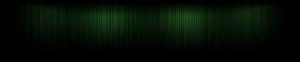 Green Lines Triple-Screen Wallpaper