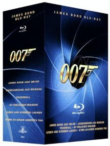 James Bond - Blu-Ray Box Volume 1 und 2