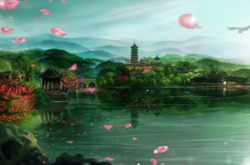 Asien Landschaft