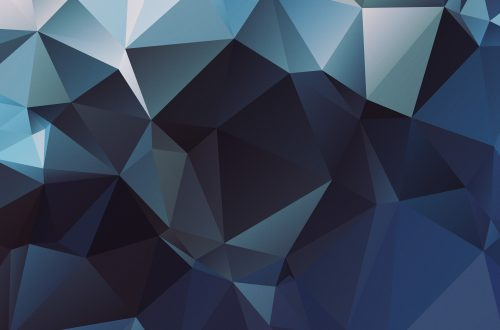 Polygon Blue