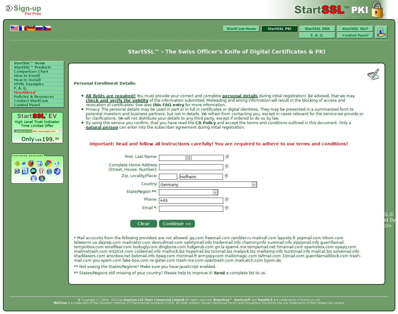 Kostenloses Ssl Zertifikat Für Router Und Nas Mavericks Blog