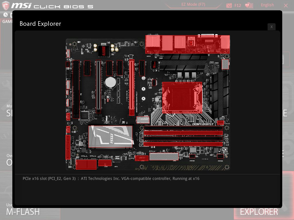 MSI Z170A Gaming Pro Carbon UEFI