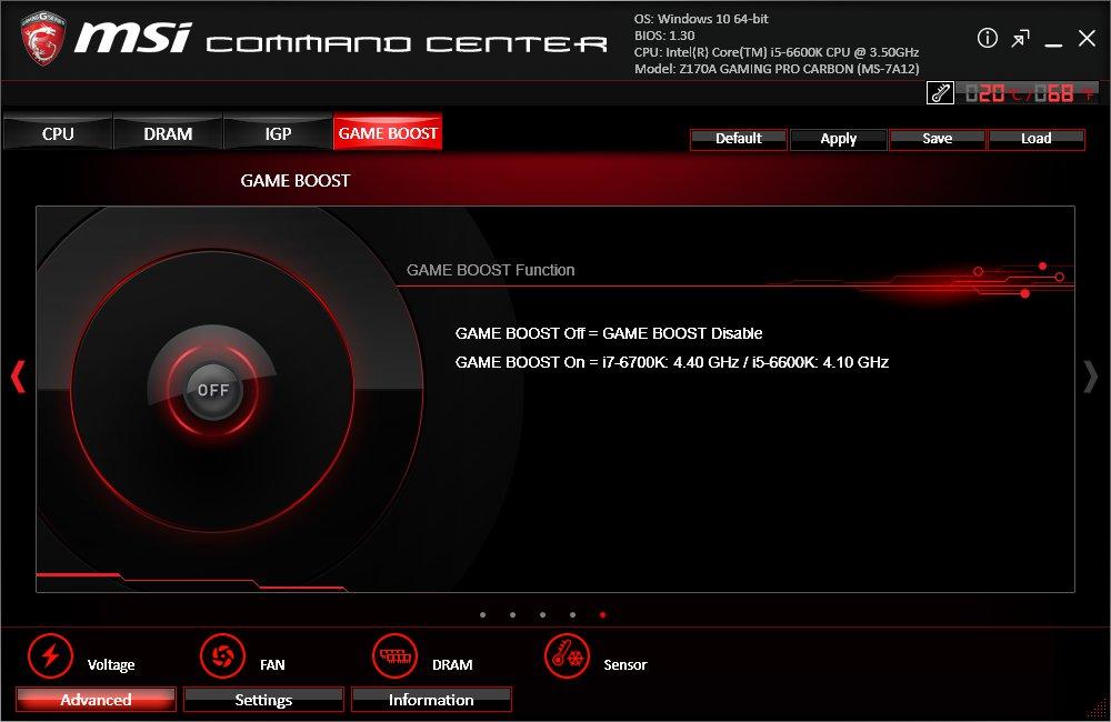 MSI Command Center