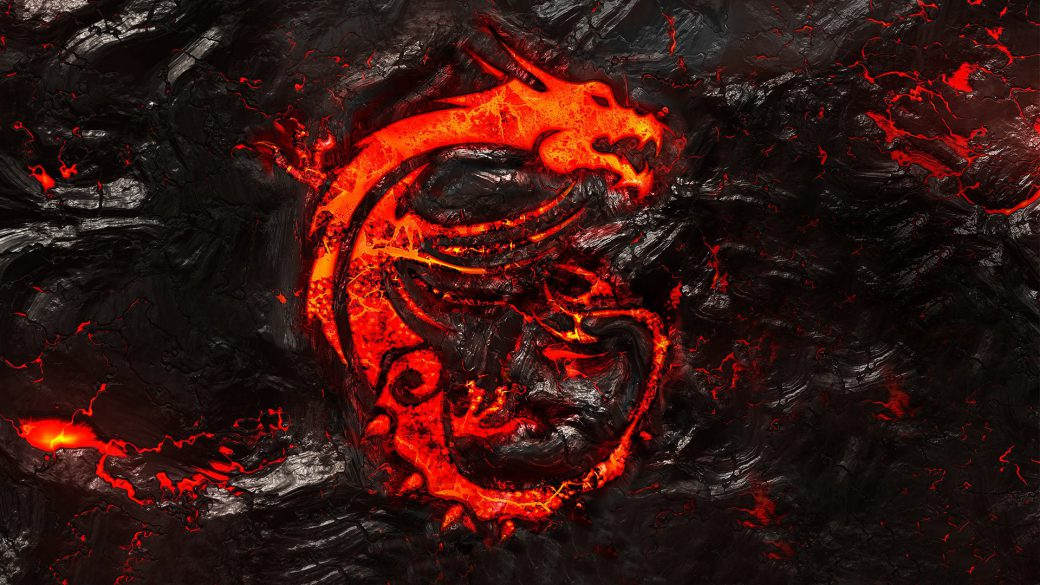 MSI Gaming Lava-Drache