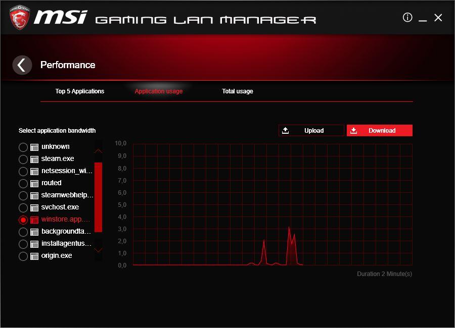 MSI Gaming LAN Manager
