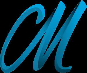 Maverick M Logo Blau