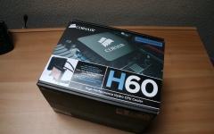 Corsair H60 All-In-One Wasserkühlung