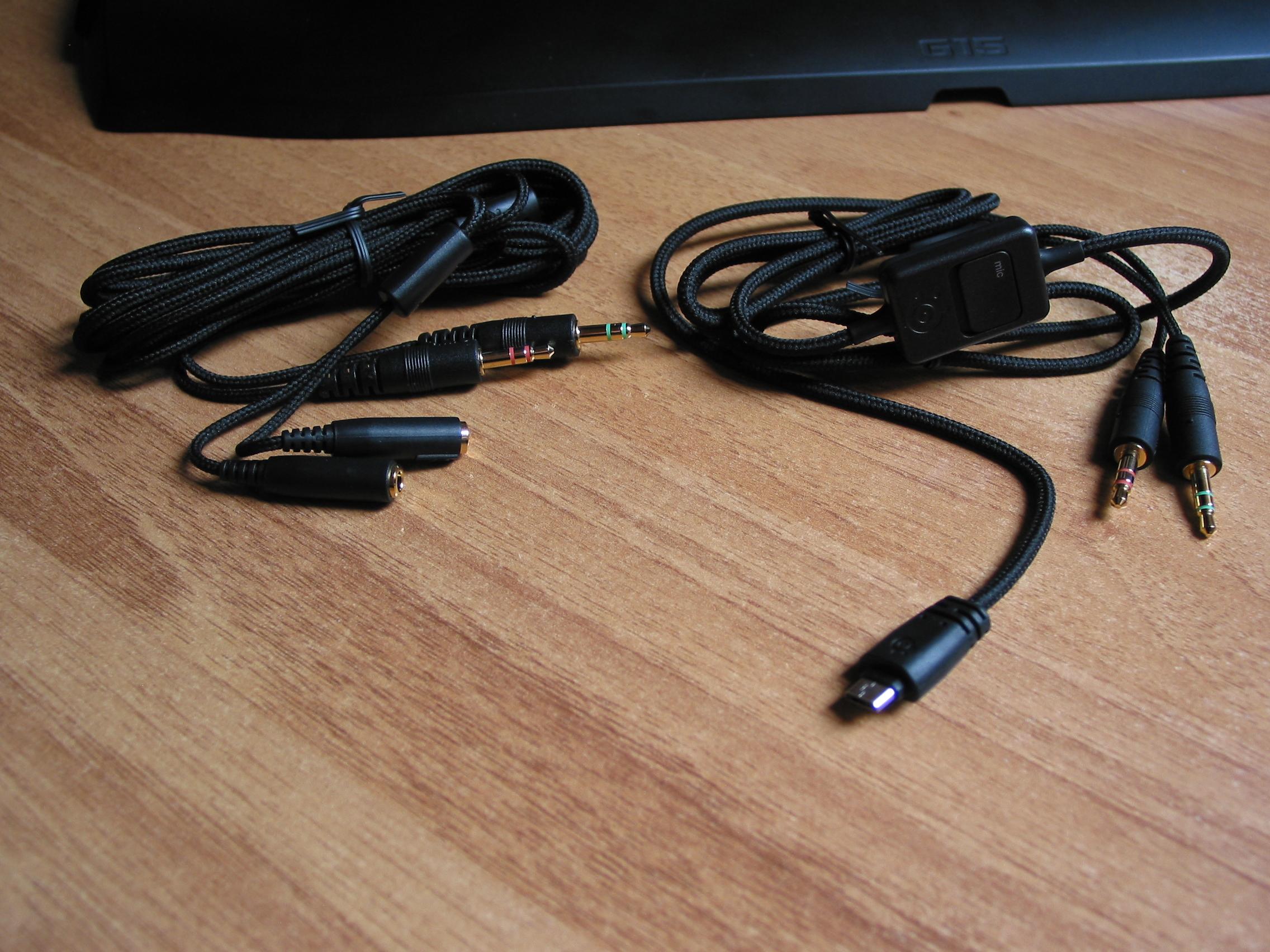 Ausreichend Kabel vorhanden