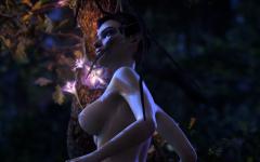 Dawn mit Nude Patch