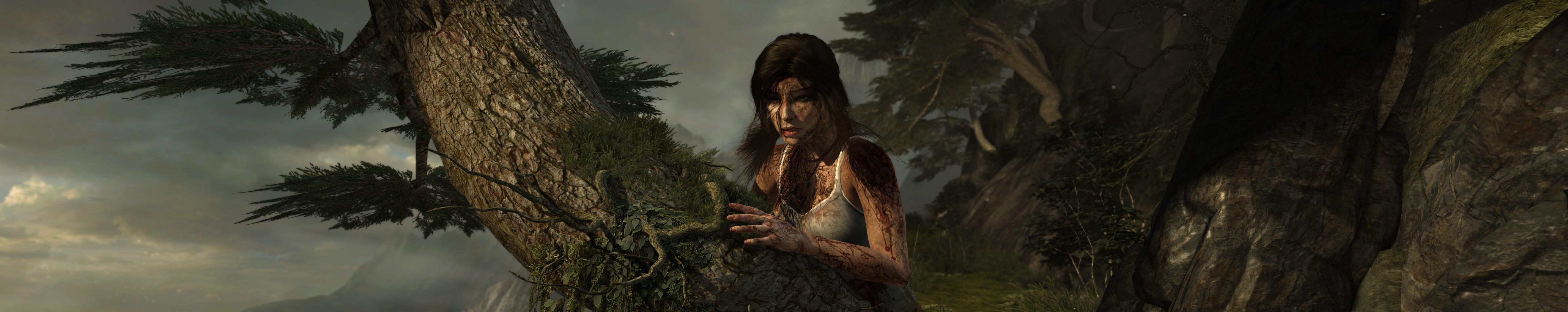 Lara nach den ersten Spielmomenten